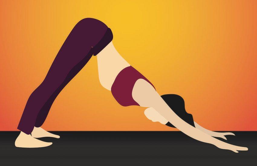 exercices de pilates et de yoga